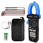 Digital Clamp Meter,INFURIDER YF-7200B TRMS Auto-Ranging AC DC Volt Amp Current Clamp on Multimeter for AC DC Voltage&Amperage,Ohm,Capacitance,Diode,Continuity Tester and NCV