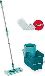 Leifheit Set Clean Twist System M, lave-sol avec molleton ultra doux et housse micro duo, seau essoreur d'une capacité de ...