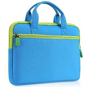 VANKYO タブレットバッグ 7インチ タブレット に適用 MatrixPad Z1/Z1キッズタブレット専用 ポータブルバッグ タブレット収納バッグ 旅行 ブルー