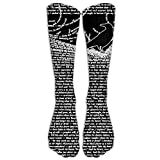 The Raven By Edgar Allan Poe Compression Socks Comfortable Breathable And Stylish Calf Socks Athletic Long Socks