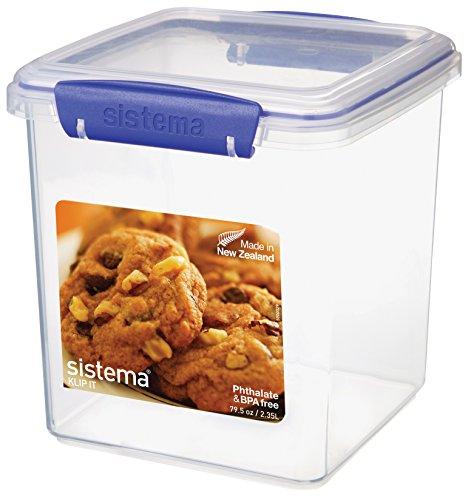 Sistema - Contenitore Per Biscotti, 2,35 L