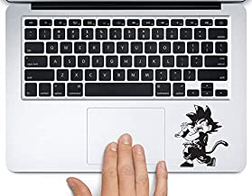 Goku Kamehameha Dragonball Printed Trackpad Clear Vinyl Decal Sticker Compatible with Apple MacBook Pro Air 11