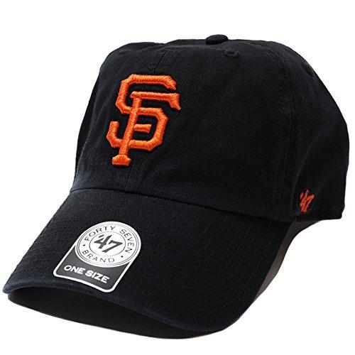 【B-RGW22GWS-BK】≪GIANTS HOME 47 CLEAN UP BLACK≫ フォーティーセブンブランド 47BRAND ベースボール CAP 帽子 MLB サンフランシスコ ジャイアンツ 正規品