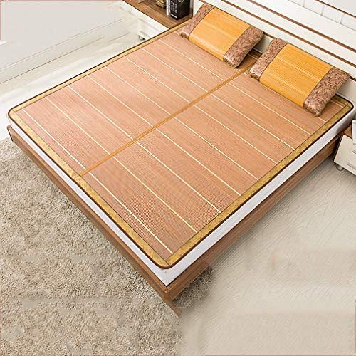 Sommer Schlafmatte, 1.5/1.8 M Doppelseitige Folding Bambusmatte Grasmatte Carbonized Matratze, 180 X 200 cm buildingmaterials / 180 * 215cm