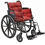 Trenton Gifts Comfort Wheelchair Cushion, Wheelchair Seat Cushion, Wheelchair Pillow, Recliner or Chair Cushion