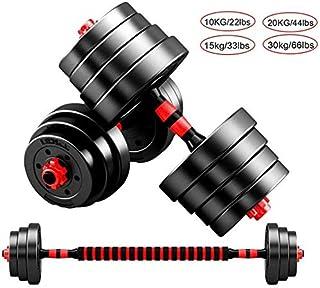 Dumbbell Dumbbell Dumbbells Barbell Lifting Dumbbells Set Large Dumbbells Barbell Rubber Encased Metal Handles Strength We...