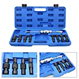 BMOT 9 Piezas Juego de Extractor de cojinetes de Extractor Interno Conjunto de extractores de cojinetes con Martillo Deslizante de 8-32 mm