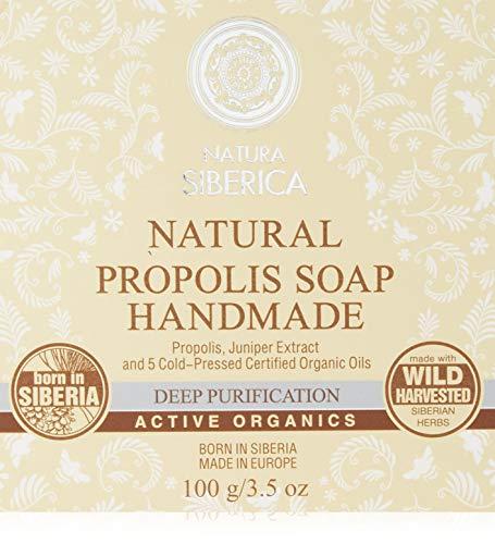 Natura Siberica NS Natural Snow Soap Handmade, 1er Pack (1 x 100 g)