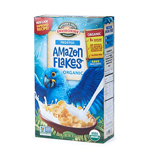 frosted flakes with vegan ingredients cereal