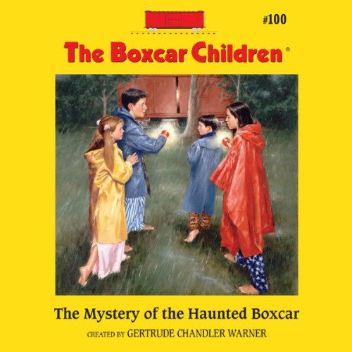 The Mystery of the Haunted Boxcar audiobook cover art