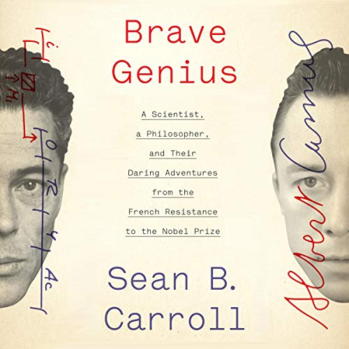 Brave Genius audiobook cover art