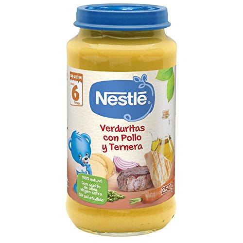 Nestlé Purés Tarrito de puré de verduras y carne,
