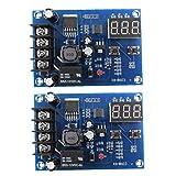 Carga de la batería del módulo de conmutador Junta XH-M603 12-24 Control de Voltaje de carga Protección de pantalla 2 piezas