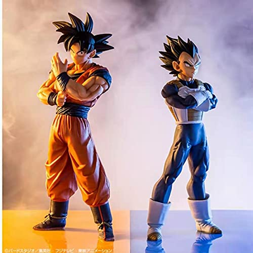 agzhu 2 Pz / Set 23 Cm Dragon Ball Z Ichiban Kuji Son Goku Vegeta Action Figures PVC Dragon Ball Super Anime Figura Goku Figurine Giocattoli Regalo