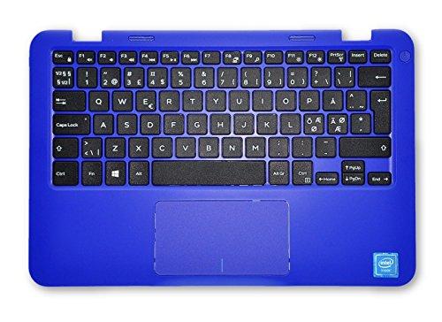 Dell Inspiron 11 3000 Series (3162) Blaue Handauflage mit N-EEUR Tastatur 7754Y MHDKY