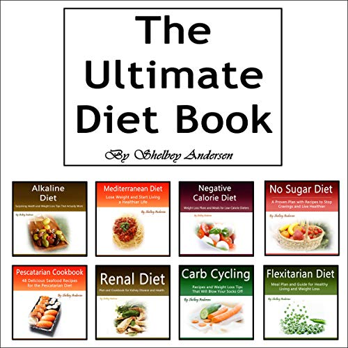The Ultimate Diet Book audiobook cover art
