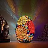 SXFYWYM Lámpara De Mesa LED Lámparas De Mesa De Huevo Característico De Egipto para Dormitorio, Sala De Estar, Baño, Iluminación De Tocador, Decoración De Pasillo Lámpara De Escritorio