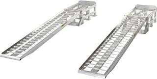 Rage Powersports Low-Profile Aluminum Vehicle Service Stands with Removable Ramps