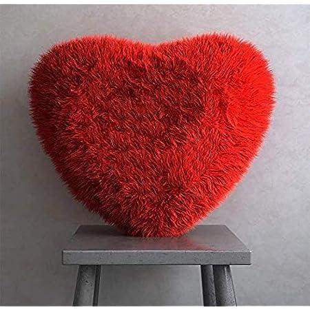 Generic Microfiber Pillow, 40 cm, Red