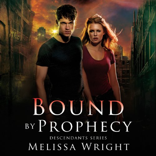 Bound by Prophecy     Descendants Series, Book 1              By:                                                                                                                                 Melissa Wright                               Narrated by:                                                                                                                                 Kirby Heyborne                      Length: 5 hrs and 50 mins     49 ratings     Overall 3.8