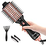 Aibesser Hair Dryer Brush, Hot Air Brush for Hair Styling, Women Brush Dryer