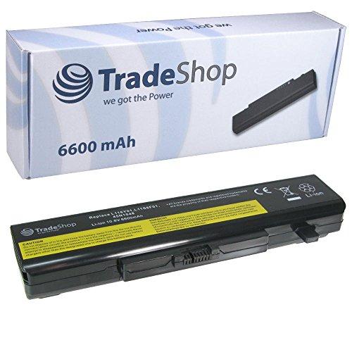 Trade-Shop Premium Li-Ion Akku, 10,8V/11,1V / 6600mAh ersetzt IBM Lenovo L11L6F01 L11L6R01 L11L6Y01 L11M6Y01 L11N6R01 L11N6Y01 L11P6R01 L11S6F01 L11S6Y01 für IdeaPad B480 B485 B490 B585 B590