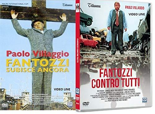 Fatozzi Subisce Ancora / Fantozzi Contro Tutti (2 Film DVD) Edizione Italiana