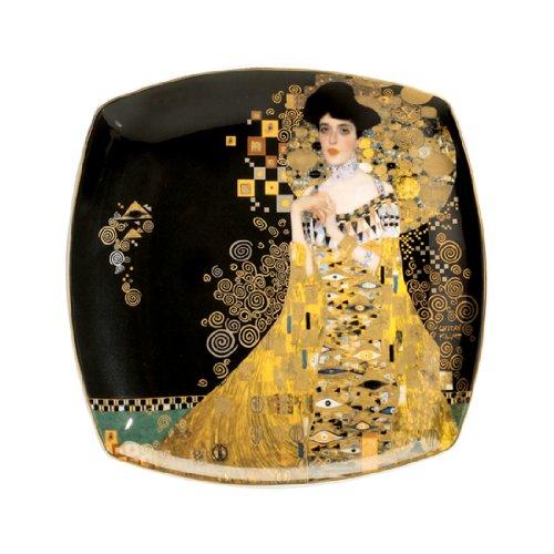 Goebel 66884875 Gustav Klimt Dessertteller Adele Bloch-Bauer
