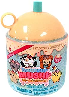 NEW! Smooshy Mushy SERIES 2 Surprise Do-Dat Donuts Squishy Surprise YELLOW - Slow Rise Collectible Toy, Collectible, Surprising and Fun