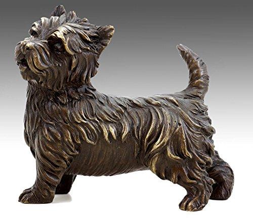 Arte & Ambiente – Figura de perro de bronce – West H