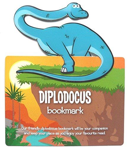 Dinosauro segnalibri segnapagina, clip on–Diplodocus