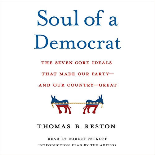 Soul of a Democrat audiobook cover art