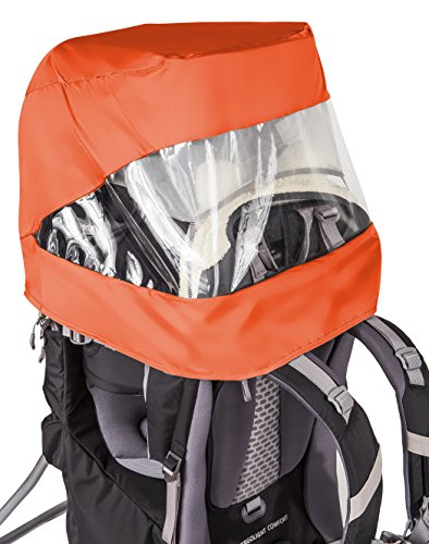 VAUDE regenhoes kinderen Sun Raincover Combination Shuttle, oranje, één maat, 11903