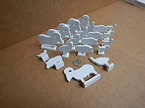 NRA IHMSA 1/10 Tenth Scale Airgun Targets 20 Piece All 1/4