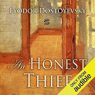 An Honest Thief audiobook cover art