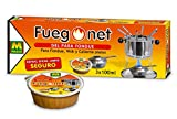FUEGO NET Fuegonet 231112 Gel para Fondues, Transparente, 3x8.5x26.5 cm