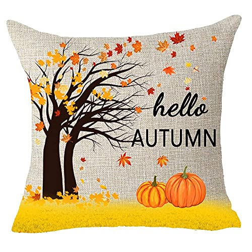 XCNGG Kissenbezug Nordic Retro Wood Rules Swim Rest Relax Cotton Linen Square Throw Waist Pillow Case Decorative Cushion Cover Pillowcase So...