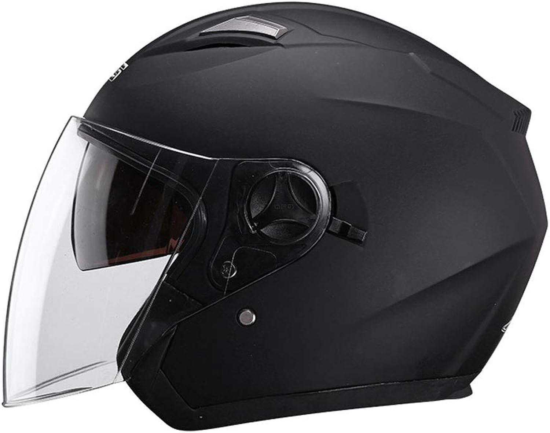 ZXW Helmet  Helmet Male Motorcycle Lady Four Seasons Electric Car Windproof Warm Helmet