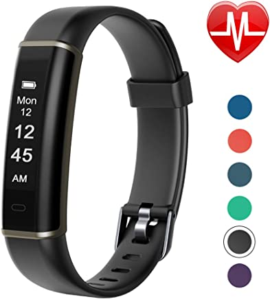 Letsfit Fitness Tracker with Heart Rate Monitor, Pedometer Watch, Waterproof Smart Watch Activity Tracker