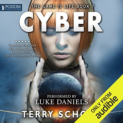 Cyber audiobook cover art
