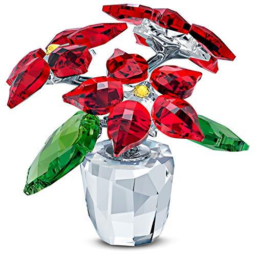 Swarovski Poinsettia Red One Size