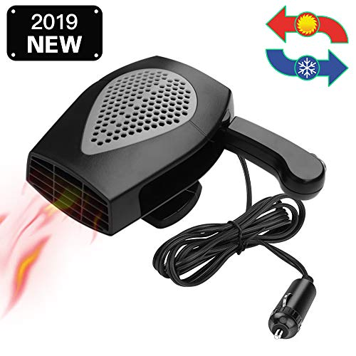 12V Portable Car Heater & Fan Space Cooller Defrost Defogger...