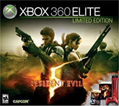 Xbox 360 Resident Evil 5 Elite Red Console (Renewed)
