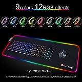 Zoom IMG-1 tappetino mouse gaming rgb grande