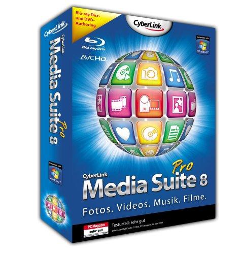Cyberlink Media Suite 8 Pro [import allemand]
