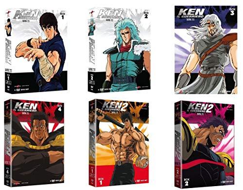 Ken il Guerriero - Serie TV Completa Box 01 - 06 (30 DVD) - COFANETTI SINGOLI ITALIANI - -