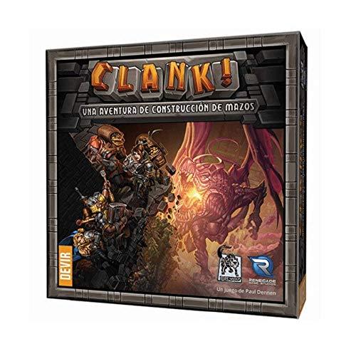 Devir Clank Brettspiel Mehrfarbig (BGCLANK
