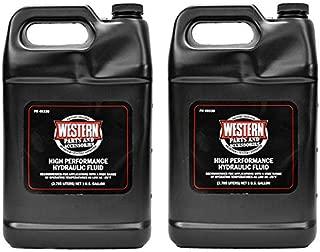 Western 2PK Genuine Original Hydraulic Fluid Snow Plow Oil 49330 Gallon Bottle