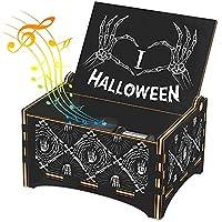 Hexagram Wind Up Halloween Music Box