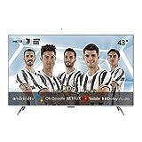 TV METZ Android 10.0 43' (109 cm) 4K UHD avec DVB-C/T2/S2 Série MUC7